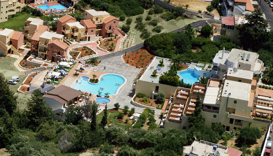 Asterias Village Resort. Херсониссос, Крит