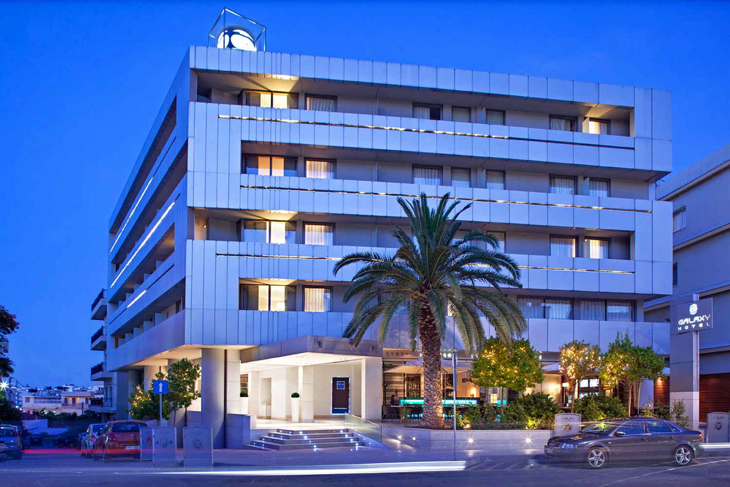 Galaxy Hotel. Heraklion, Crete