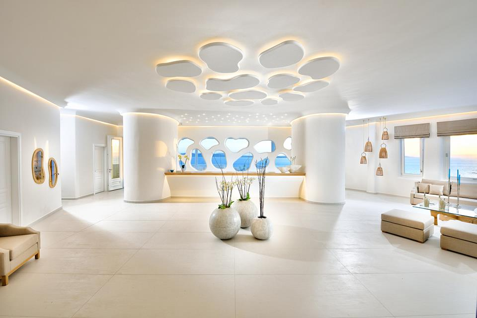 Reception. Anax Resort & Spa. Mykonos