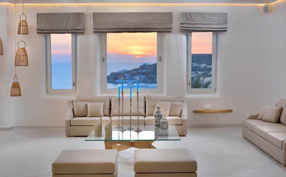 Reception. Anax Resort & Spa. Mykonos)