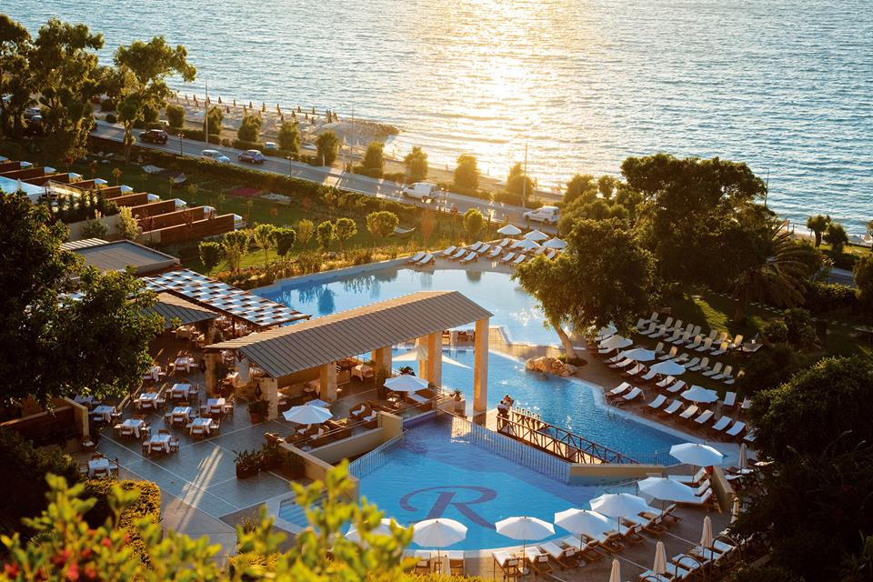 Amathus Beach Hotel. Иксья, Родос