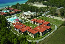 Simantro Beach Hotel, Above view