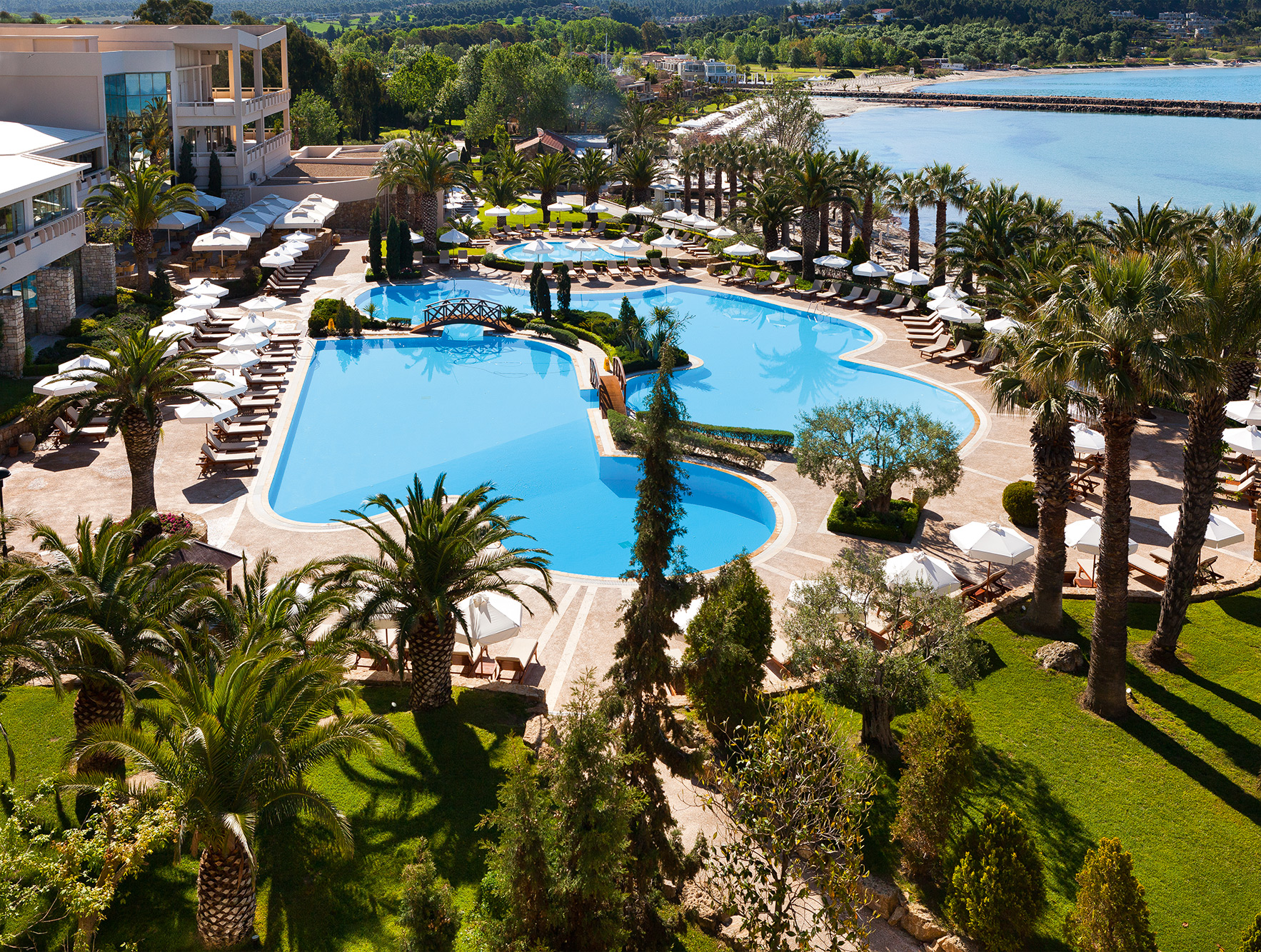 Sani resort for Small luxury hotel group