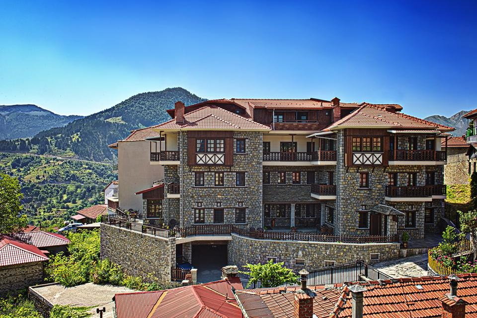 Aroma Dryos. Traditional guesthouse, Metsovo