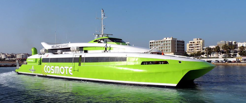 High Speed Ferry Service Thessaloniki-Sporades Kicks Off