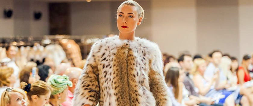 Greek Furs Fashion Show