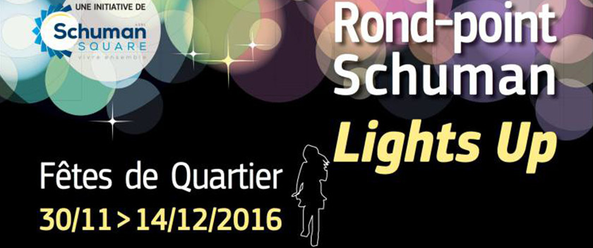 «Rond Point Schuman Lights Up» Brussels