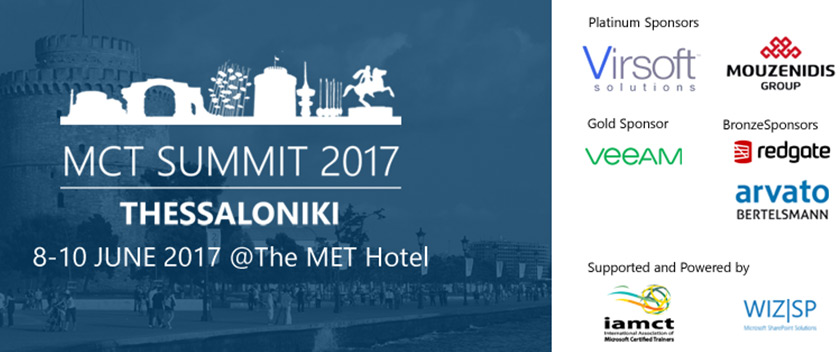 MCT Summit Europe 2017