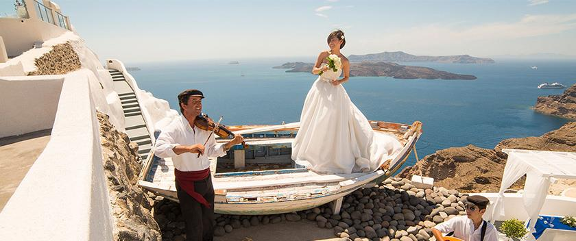 Brides Magazine Chooses Greece