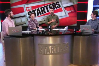 Тасос Мелас, The Starters, NBA TV