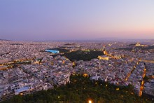 Athens night view