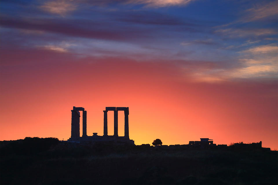 Temple of Poseidon, Cape Sounio