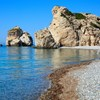 Beach of Aphrodite in Cyprus