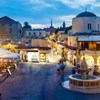 Hippocrates square. Old Town of Rhodes