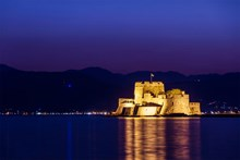 Bourtzi castle in Nafplion