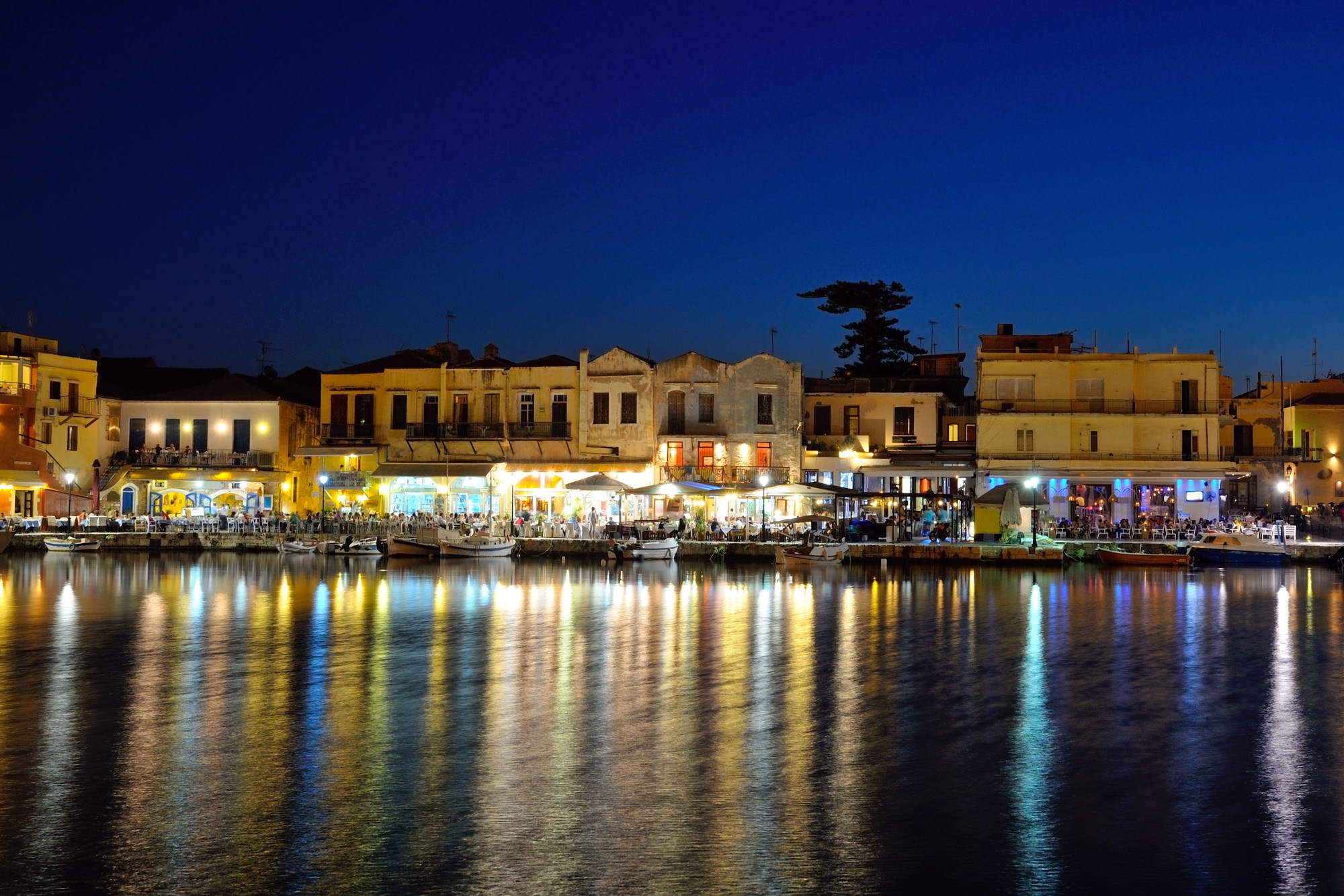 Old Venetian Harbor Rethymno