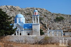 Church At Halki Island