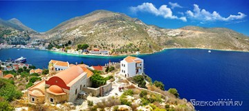 Panoramic view of Kastelorizo