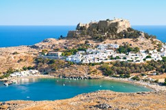 Traditional settlement Lindos, Rhodes