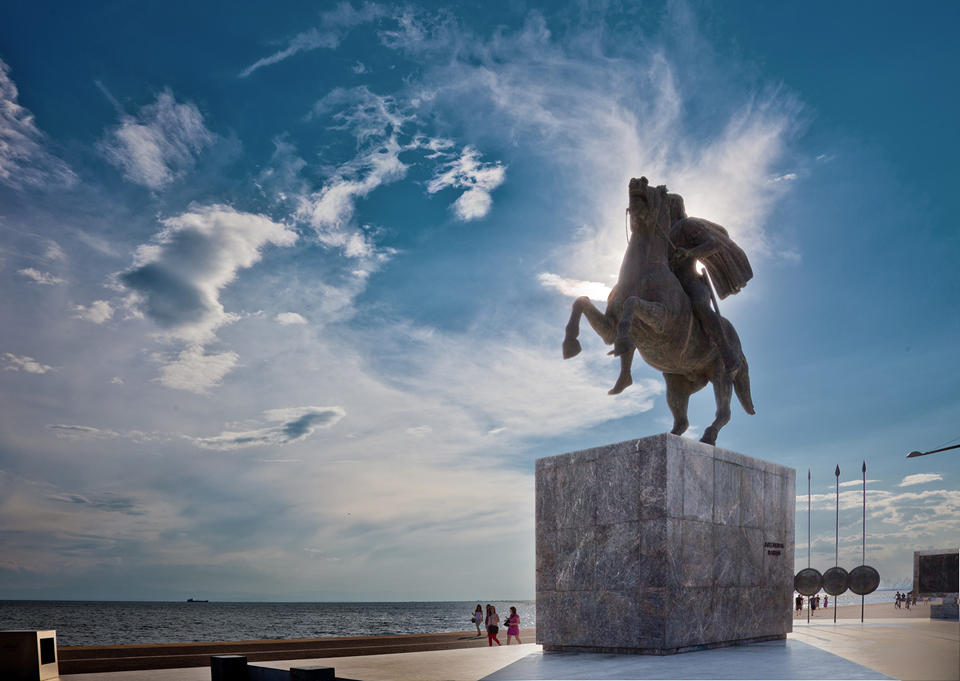 Alexander the Great. Nea Paralia)