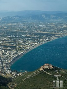 Loutraki Greece Aerial