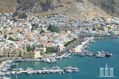Kalymnos, port