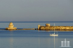 Methoni, marina