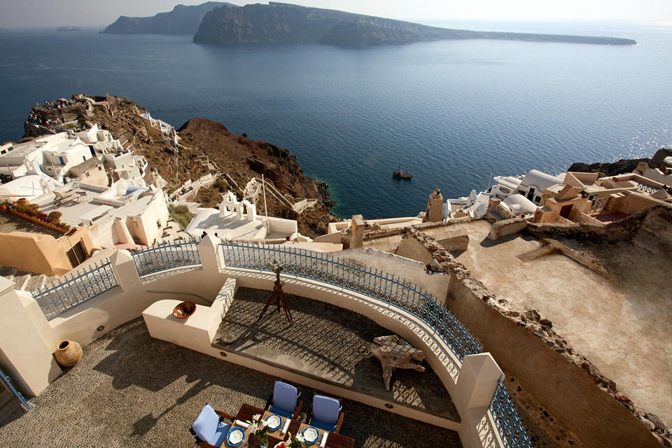 Oia Mansion - View from property)