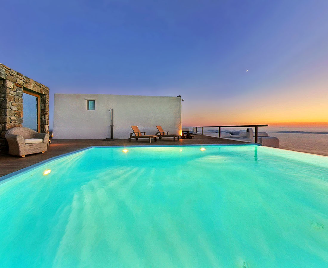 Honeymoon Suite. Zinas Villas, Μύκονος)
