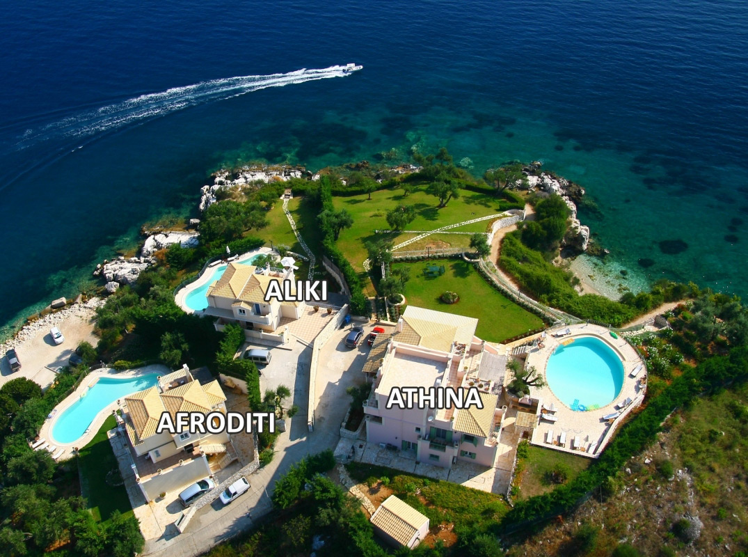 Corfu Dream Villas. Керкира