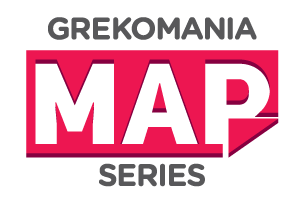 Grekomania Map Series logo